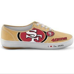 NFL San Francisco 49ers Football Fan shoes